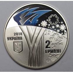 2 hryvni 2018 PP - Phjongcshang Winter Olympics Games
