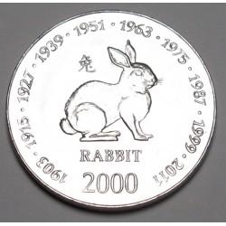 10 shillings 2000 - Rabbit