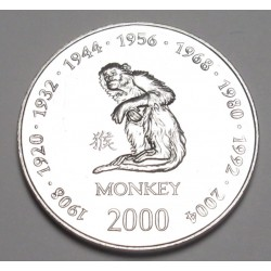 10 shillings 2000 - Monkey