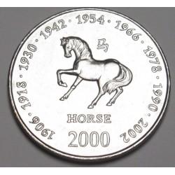 10 shillings 2000 - Horse