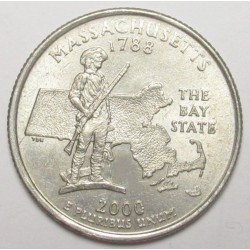 quarter dollar 2000 P - Massachusetts