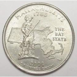 quarter dollar 2000 P - Massachusetts