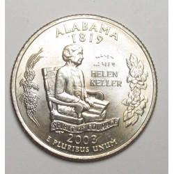 quarter dollar 2003 D - Alabama
