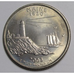 quarter dollar 2003 P - Maine