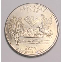 quarter dollar 2003 D - Arkansas