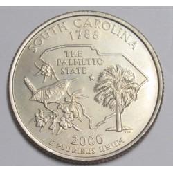 quarter dollar 2000 D - South Carolina