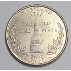 quarter dollar 2000 D - Maryland