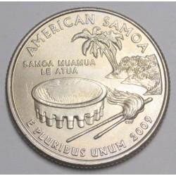 quarter dollar 2009 D - American Samoa