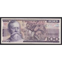 100 pesos 1982