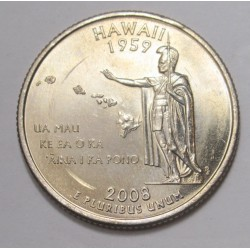 quarter dollar 2008 P - Hawaii