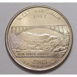 quarter dollar 2005 D - West Virginia