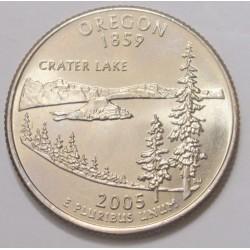 quarter dollar 2005 D - Oregon