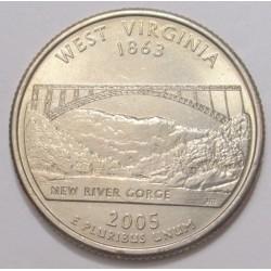 quarter dollar 2005 P - West Virginia