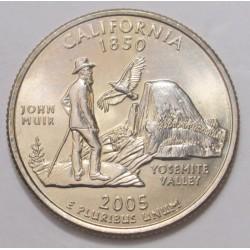 quarter dollar 2005 D - California