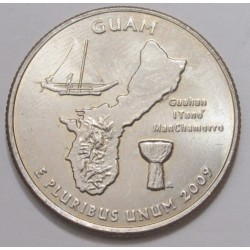 quarter dollar 2009 D - Guam