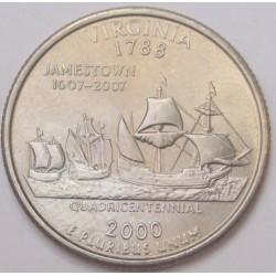 quarter dollar 2000 P - Virginia