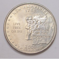 quarter dollar 2000 P - New Hampshire