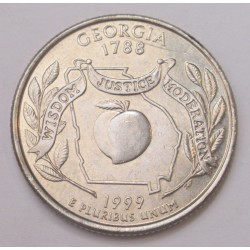quarter dollar 1999 P - Georgia