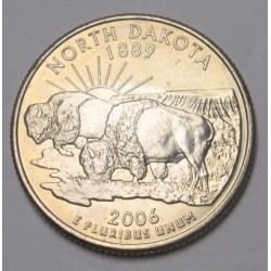 quarter dollar 2006 P - North Dakota