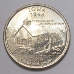 quarter dollar 2004 D - iowa