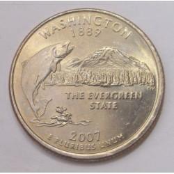 quarter dollar 2007 P - Washington
