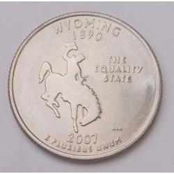 quarter dollar 2007 D - Wyoming