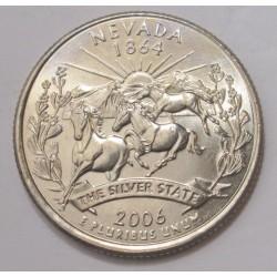 quarter dollar 2006 D - Nevada