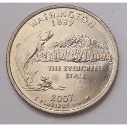 quarter dollar 2007 D - Washington