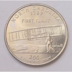 quarter dollar 2001 P - North Carolina