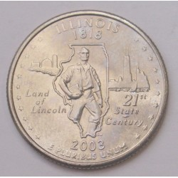 quarter dollar 2003 D - Illinois