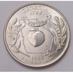 quarter dollar 1999 D - Georgia