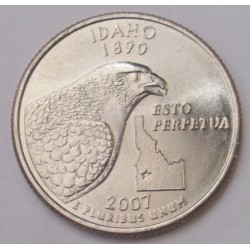quarter dollar 2007 D - Idaho