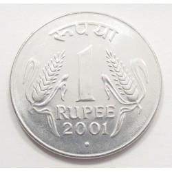 1 rupee 2001 - point