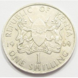 1 shilling 1969