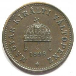 1 fillér 1898