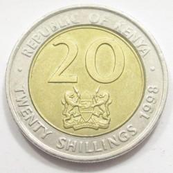 20 shillings 1998