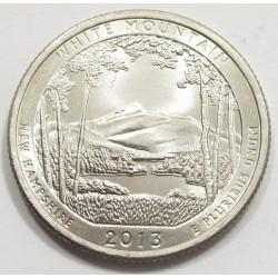 Quarter dollar 2013 P - White Mountain