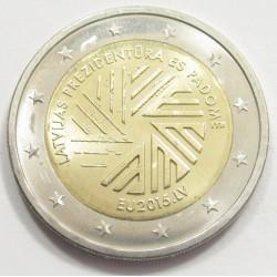 2 euro 2015 - Latvian Presidency of the Council of the EU