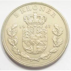 5 kroner 1961