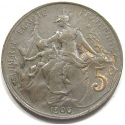 5 centimes 1906