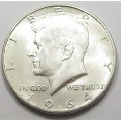 half dollar 1964 D