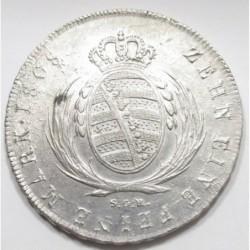 1 thaler 1808 SCH - Saxony