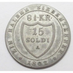 Franz II. 15 soldi 1802 A