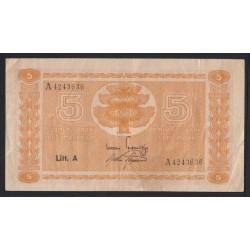 5 markkaa 1945