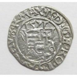 Maximilian I. denar 1571 KB ÉH766