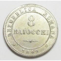 8 baiocchi 1849