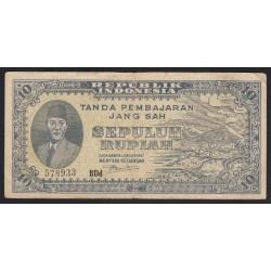 10 rupiah 1947