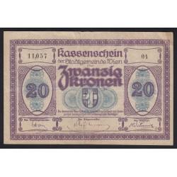 20 kronen 1918 - Wien