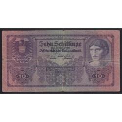 10 schilling 1925