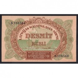 10 rubli 1919
